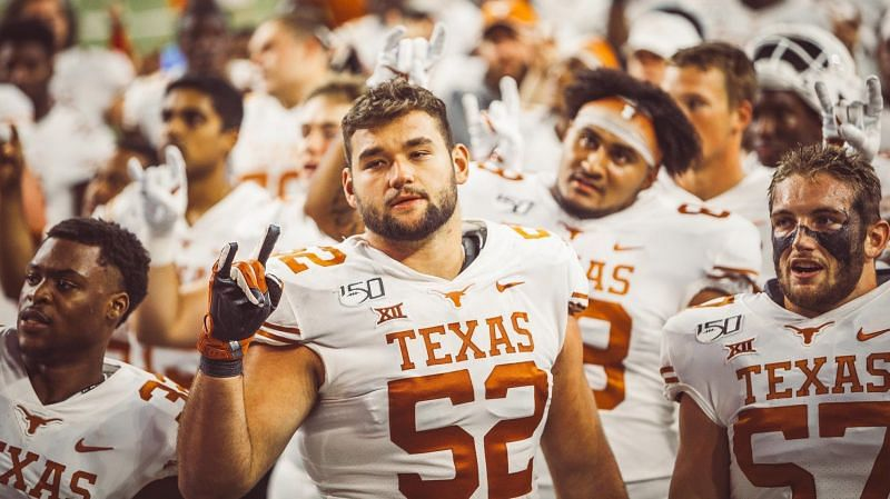 Texas OL Samuel Cosmi