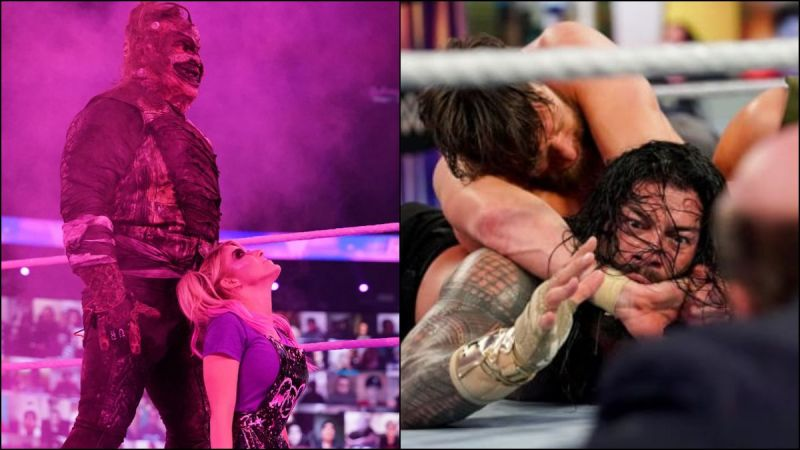 The Fiend returned at WWE Fastlane while Daniel Bryan made Roman Reigns tap out