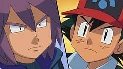 Ash and Paul face off in an intense Pokemon battle (Image via The Pokemon Company)