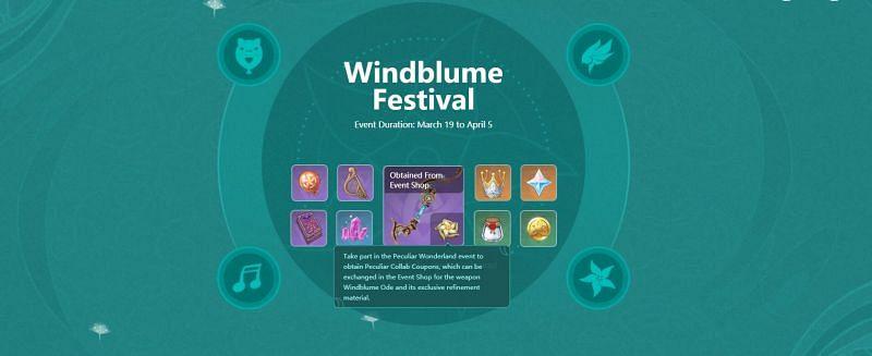 Festival Windblume