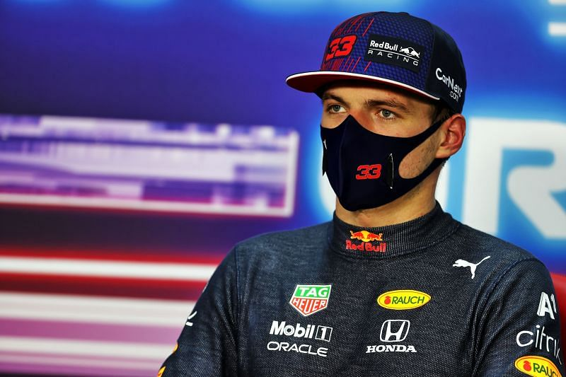 Max Verstappen was able to take pole position despite suffering floor damage. XPB/Getty Images.