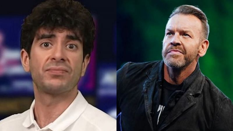 Tony Khan and Christian Cage