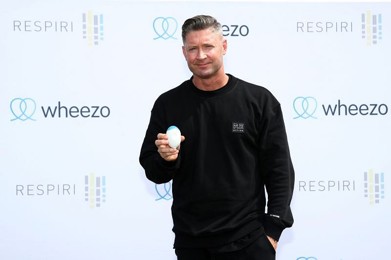 Michael Clarke Launches New Asthma Management Solution Wheezo
