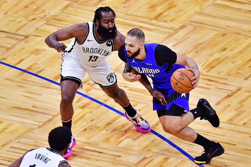 Evan Fournier poured in 31 points for the Orlando Magic against the Brooklyn Nets on Friday.