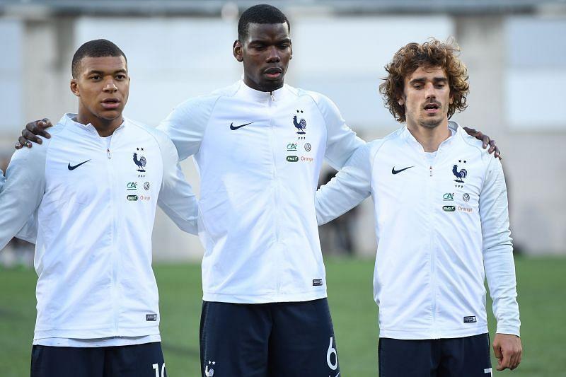 France play Ukraine on Wednesday