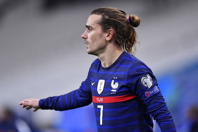 Antoie Griezmann will be in action for France against Kazakhstan
