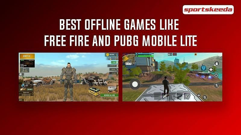 There are many offline games like PUBG Mobile Lite and Free Fire in the market