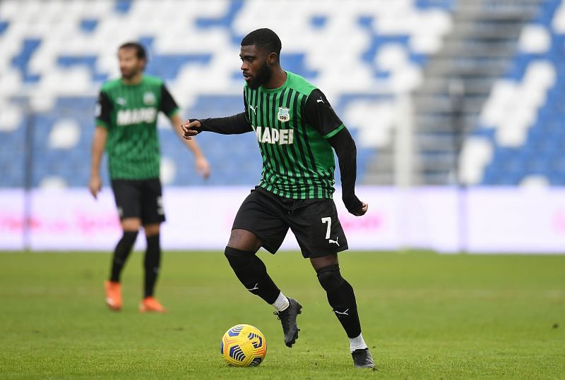 Jeremie Boga is an important player for Sassuolo