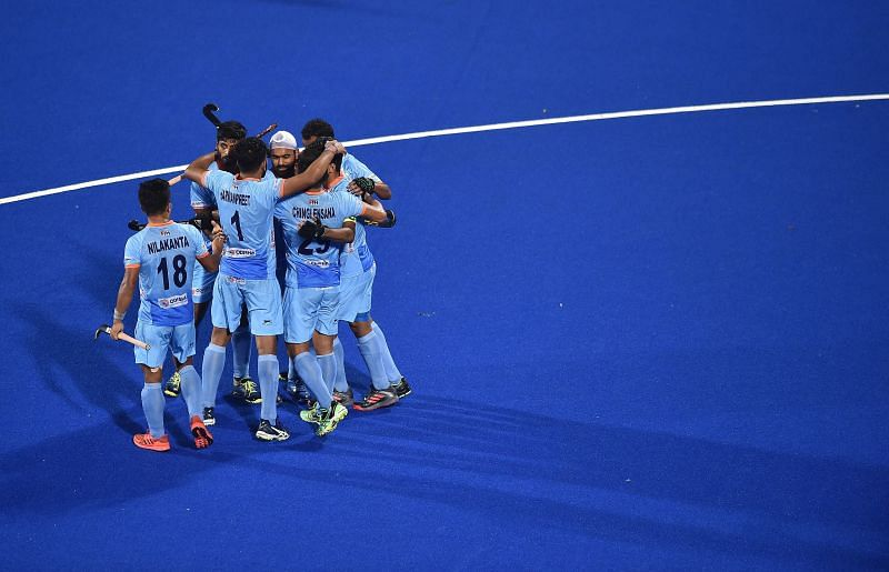 India will take on Great Britain on Monday.