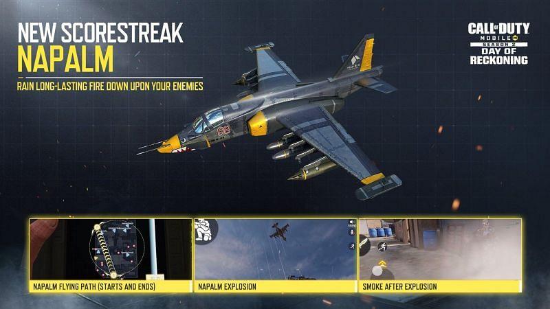 Napalm Scorestreak is coming in COD Mobile Season 2 [Image via Activision]