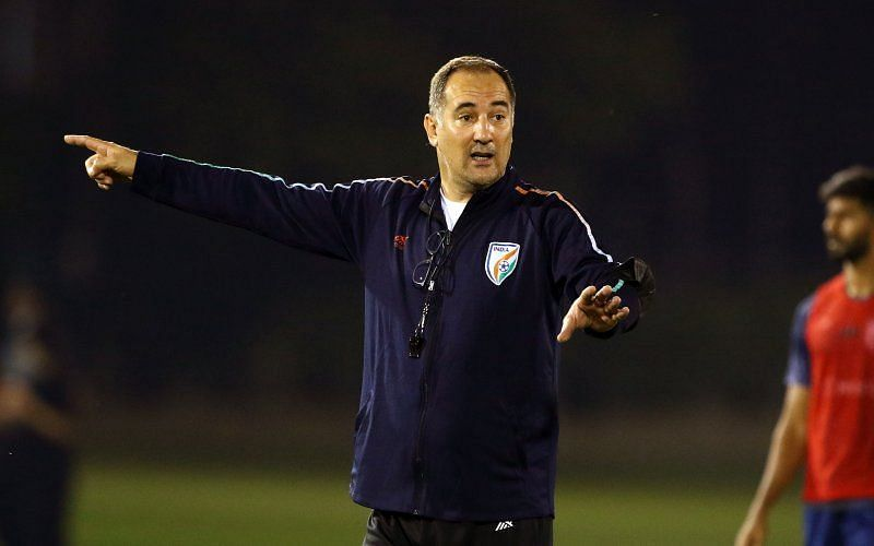 Igor Stimac interacted with the media on Sunday ahead of the UAE fixture.