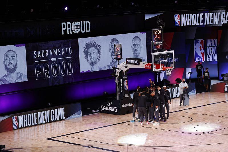 Sacramento Kings at the AdventHealth Arena in Orlando