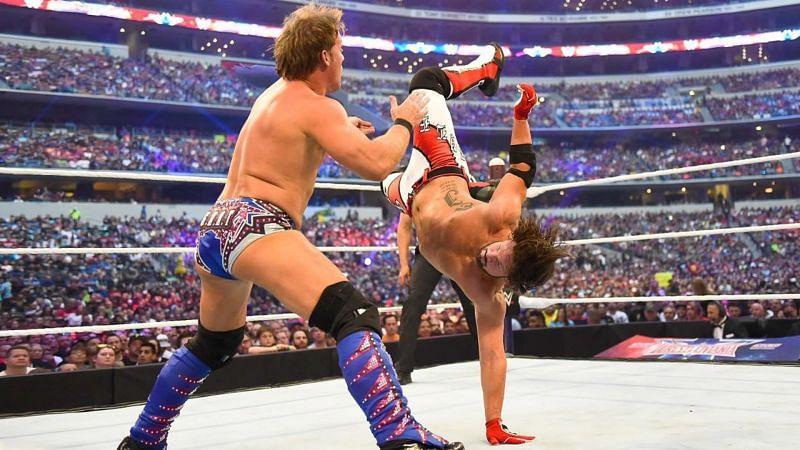 Chris Jericho vs AJ Styles - WrestleMania 32