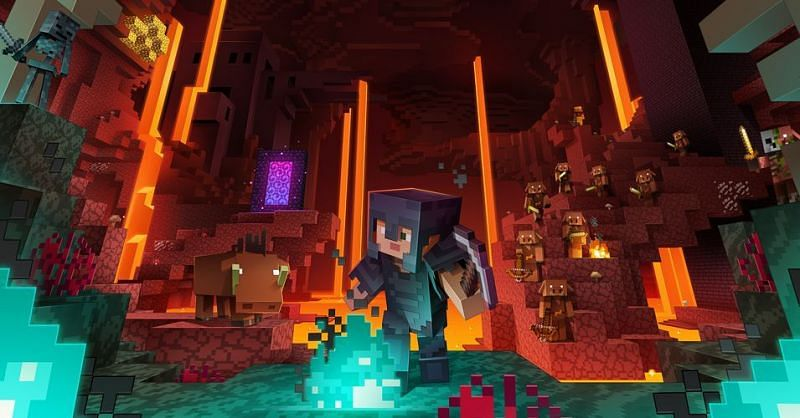 Nether in Minecraft (Image via polygon)