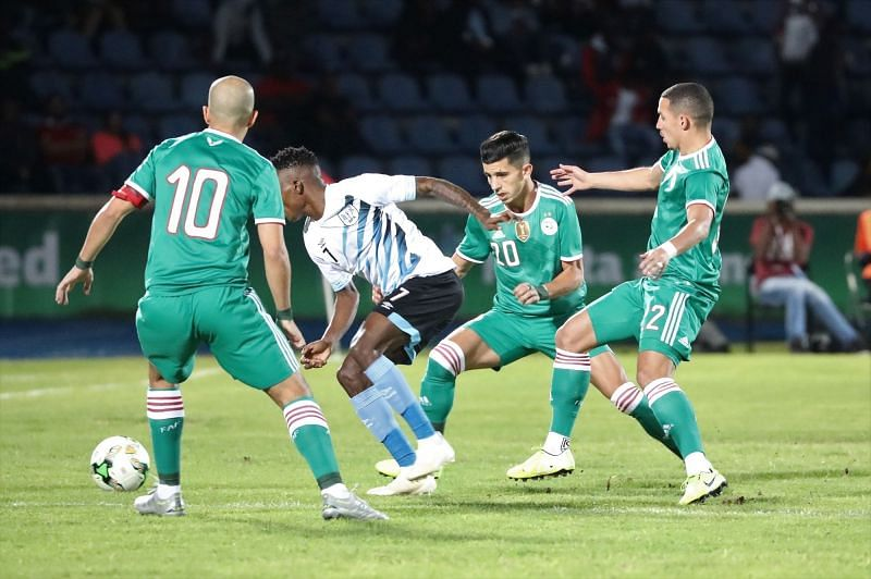 Algeria are looking to finish their qualifying campaign with a win against Botswana