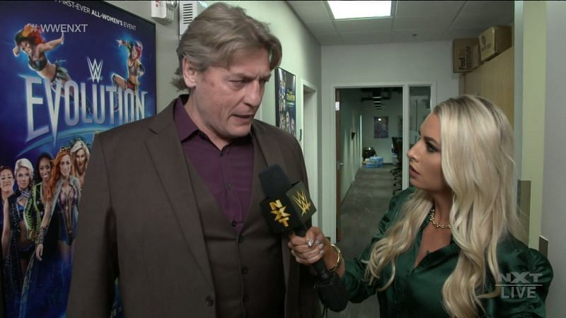 NXT General Manager William Regal on tonight
