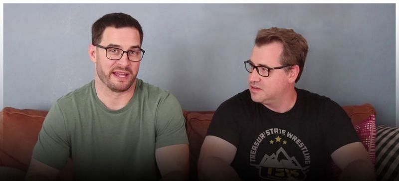 The Co-Main Event Podcast hosts Ben and Chad