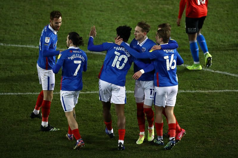 Portsmouth will take on Shrewsbury Town