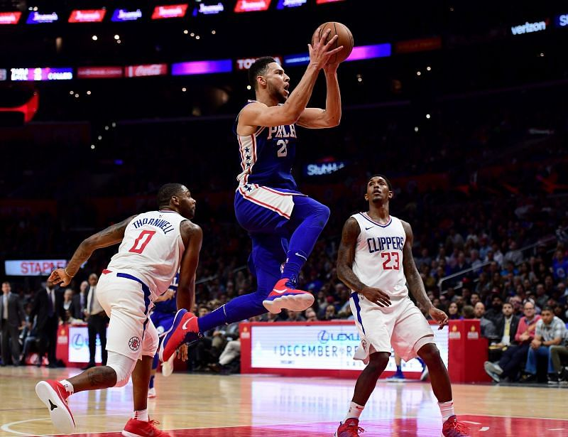 Philadelphia 76ers v Los Angeles Clippers