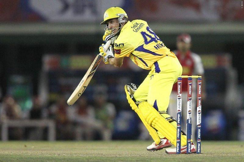 Michael Hussey of Chennai Super Kings