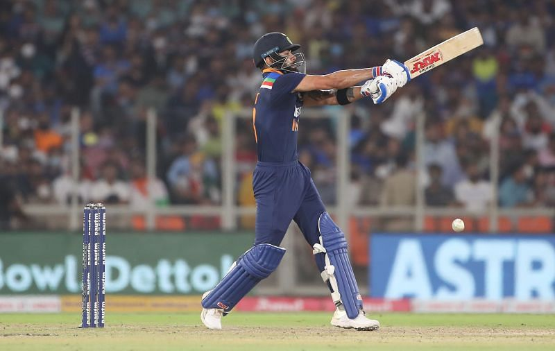 Virat Kohli opened with Rohit Sharma for the first time in T20Is on Saturday.