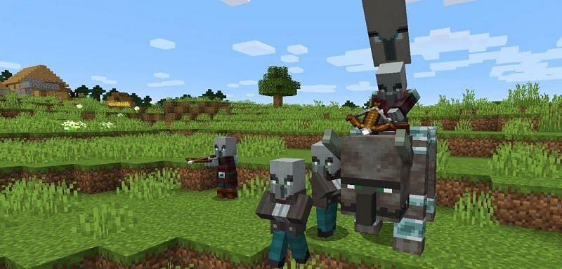 Pillagers Minecraft (Image via minecraft.fandom)