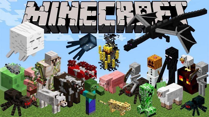 Most Minecraft mobs (Image via Minecraft.tools