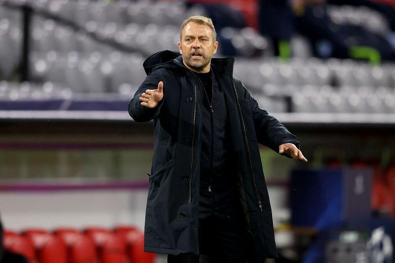 Bayern Munich head coach Hansi Flick
