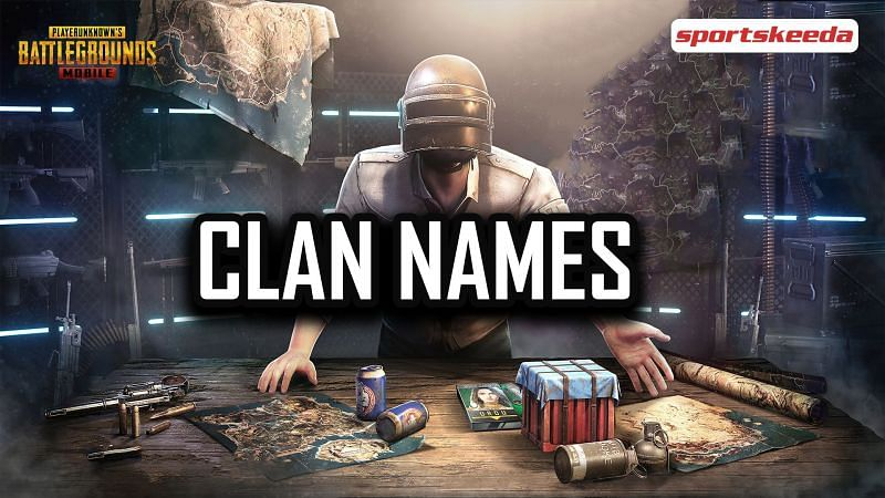 Clan names for PUBG Mobile