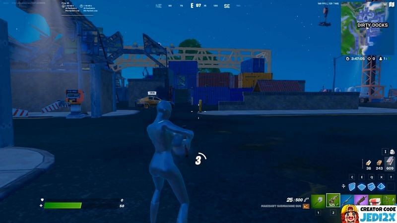 The instant build glitch in Fortnite Season 6 (Image via Reddit/u/Jedisiri21)