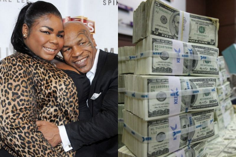 Mike Tyson and Mikey Lorna Tyson