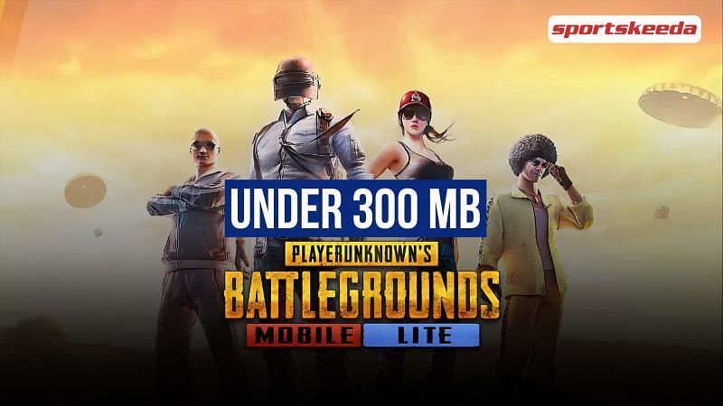 Games like PUBG Mobile Lite under 300 MB