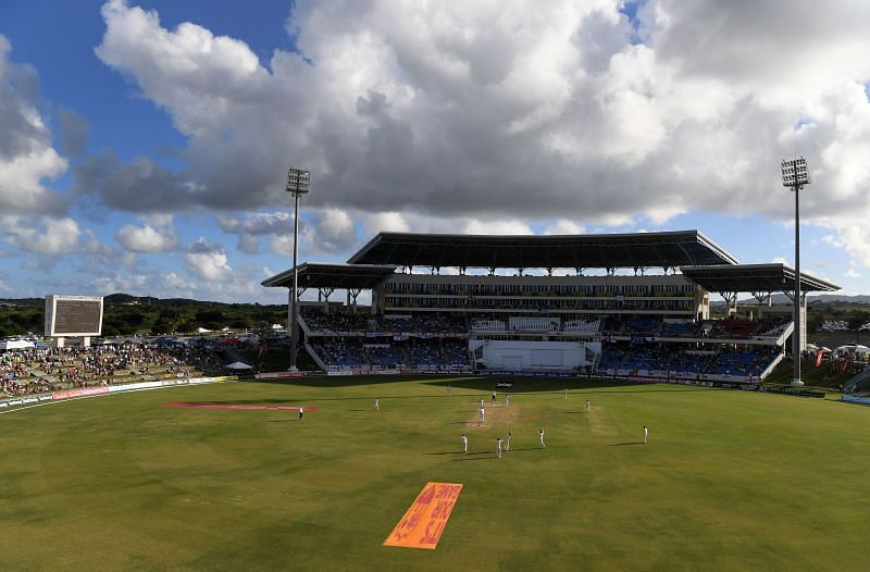 The Sir Vivian Richards Stadium will host the two Test matches between Sri Lanka and West Indies