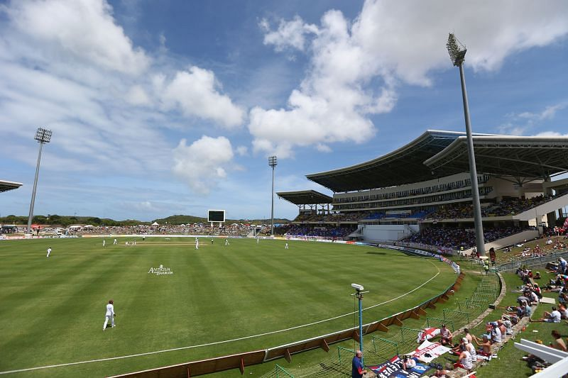 Sir Vivian Richards Stadium will play host to the ICC Cricket World Cup Super League series between West Indies and Sri Lanka