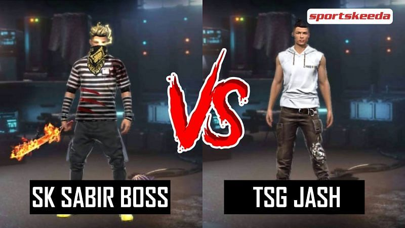 SK Sabir Boss and TSG Jash in Garena Free Fire