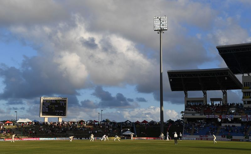 The Sir Vivian Richards Stadium has played host to eight Test matches in the last 13 years
