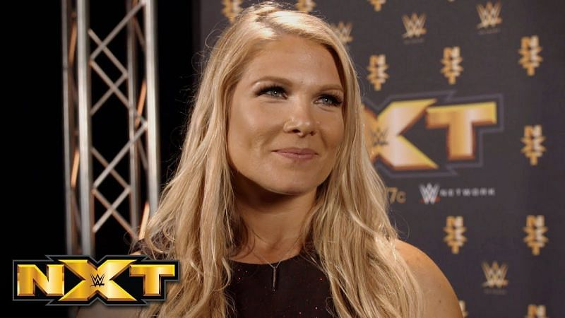 Beth Phoenix is now a commentator on NXT