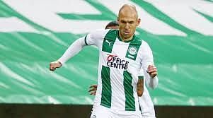 Arjen Robben is unavailable for this game