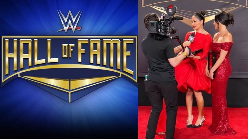 WWE Hall of Fame ceremony tapings