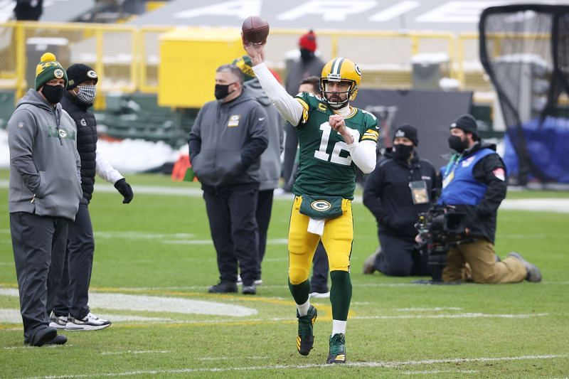 Green Bay Packers QB Aaron Rodgers