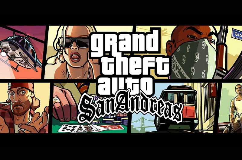 GTA San Andreas is still replayable today (Image via Rockstar Games)