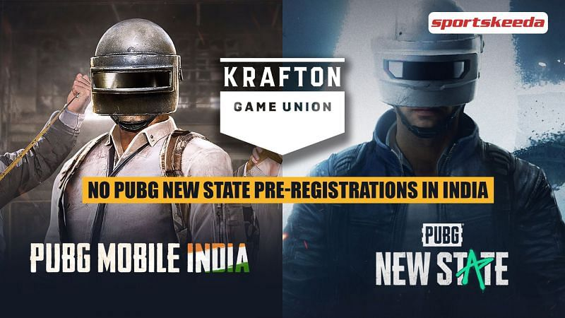 There will be no PUBG New State pre-registrations in India for now
