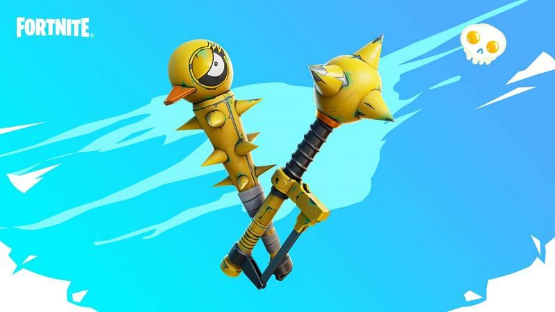 Fortnite Spring Breakout Tactical Quaxes Pickaxe (Image via Epic Games)