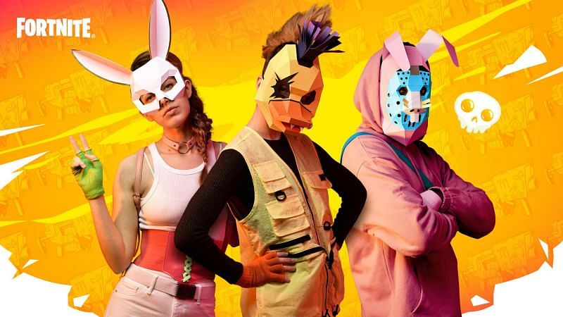 Fortnite Season 6 Spring Breakout Papercraft cosplay event (Image via Epic Games)