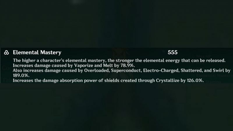 Elemental Mastery in Genshin Impact
