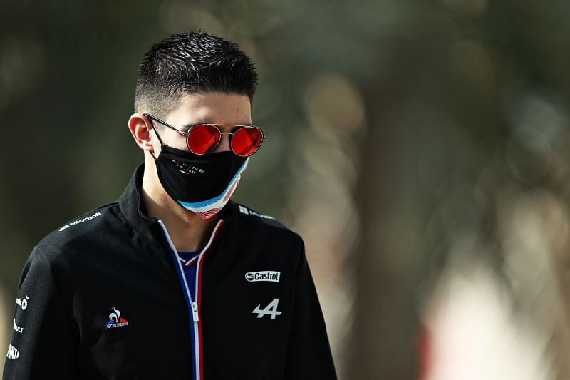 Esteban Ocon will have to prove himself against Fernando Alonso if wants to keep his seat at Alpine. Photo: Mark Thompson/Getty Images.