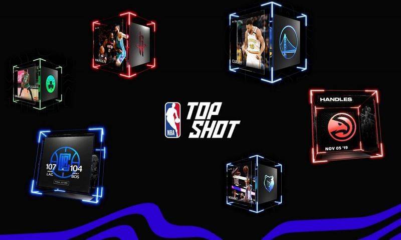 NBA Top Shot sells highlights or moments.