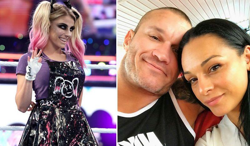 Alexa Bliss; Randy and Kim Orton