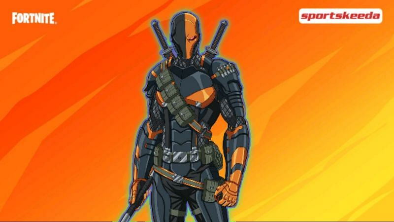 Is Deathstroke going to team up with the heroes in Batman x Fortnite: Zero Point? (Image via Sportskeeda)