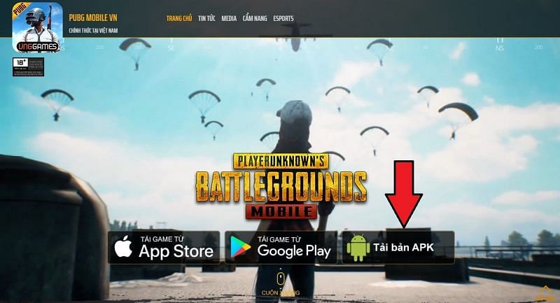 Tap on the Download APK option